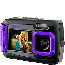 Coleman Duo2 20.0 MP Underwater Digital & Video Camera (Waterproof to 10 ft) with Dual LCD Screens