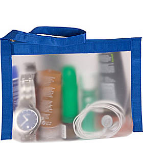 Flanabags AirQuart TSA-Compliant Clear Carry-on Quart Size Toiletry Bag