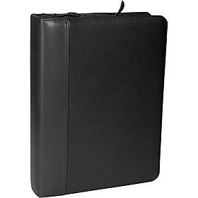 Royce Leather Deluxe Convertible Zip Around Binder/Folio