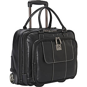 Kenneth Cole Reaction It's Wheel-y Late Rolling Laptop Case Bag