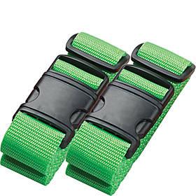 Lewis N. Clark Neon Luggage Belt - set of 2