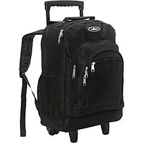 Everest Patterned Wheeled Backpack