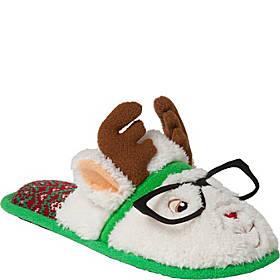 Dearfoams Holiday Novelty Closed Toe Scuff Slipper