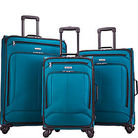 American Tourister Pop Max 3 Piece Expandable Spinner Luggage Set
