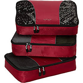 eBags Medium Classic Packing Cubes - 3pc Set