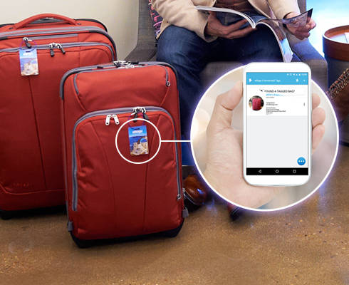 Connected Luggage Tag