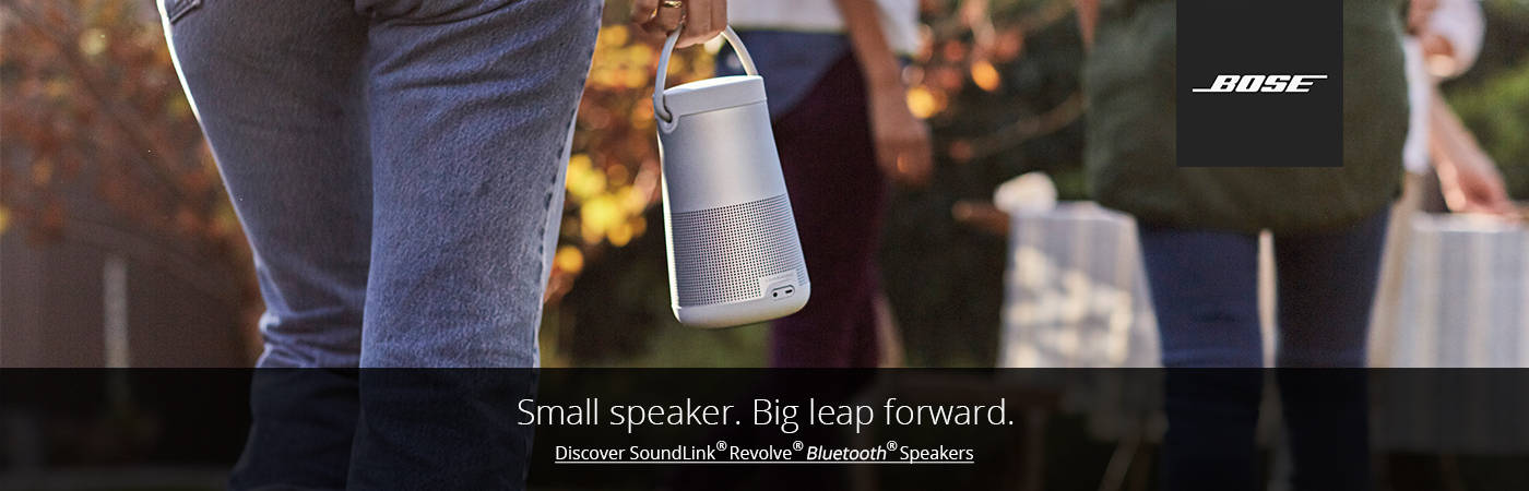 Discover Bose Soundlink Revolve Bluetooth Speaker. Shop Now.