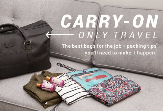 Carry-On Only Travel