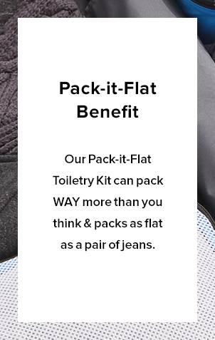 Pack-It-Flat Benefit