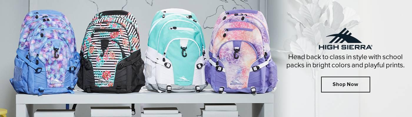 Shop High Sierra School Packs