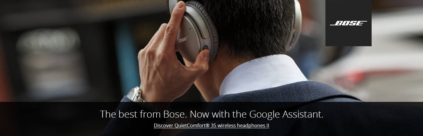 Discover Bose QuietComfort 35 Wireless Headphones II. Shop Now.