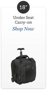 Shop 18 inch rolling luggage