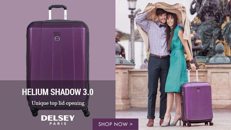 Shop Delsey Helium Shadow 3.0