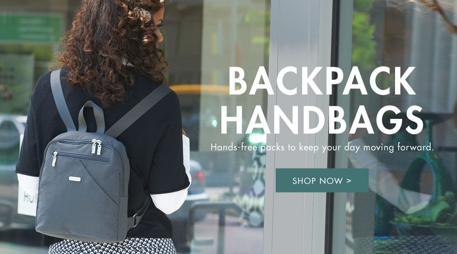 Backpack Handbags - Hands-free packs to keep your day moving forward - Shop Now