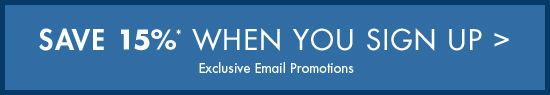 Save 10% When You Sign Up - Exclusive Email Promotions
