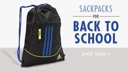 Sackpacks for Back to School