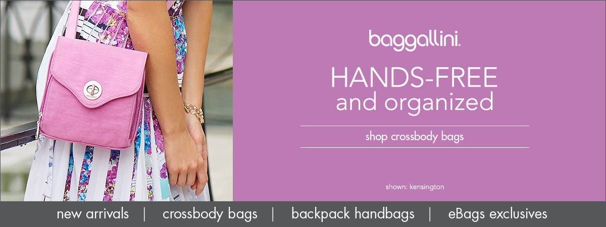 Shop baggallini Handbags, New Arrivals, Crossbody Bags, & eBags Exclusives