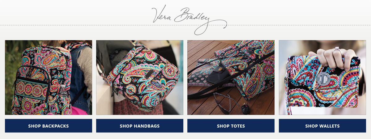 Shop Vera Bradley Wallets, Handbags, Luggage & Duffels, & Totes