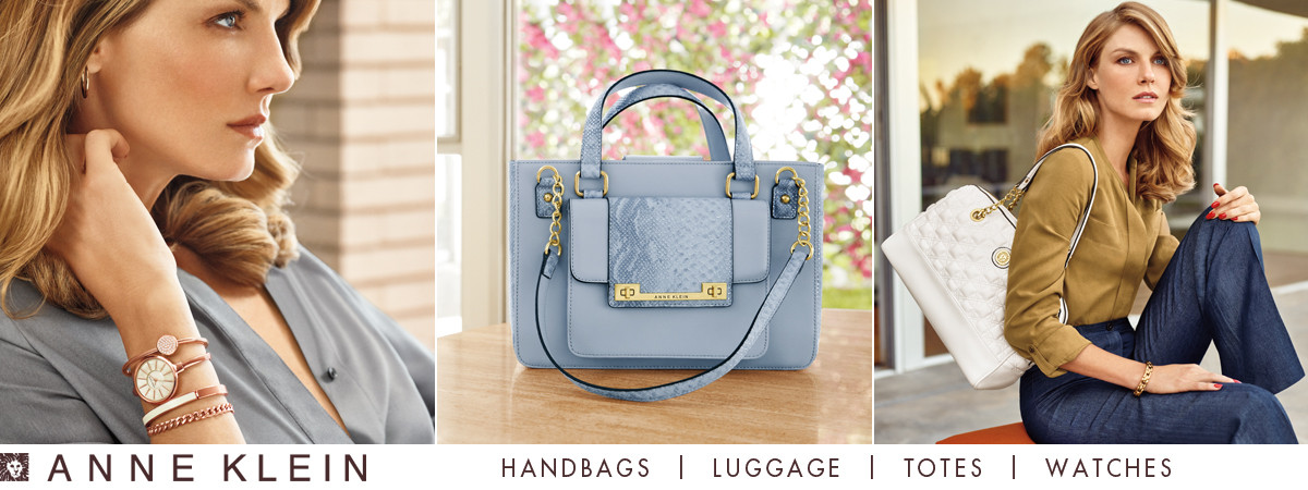 Shop Anne Klein Handbags, Luggage, Totes and Watches