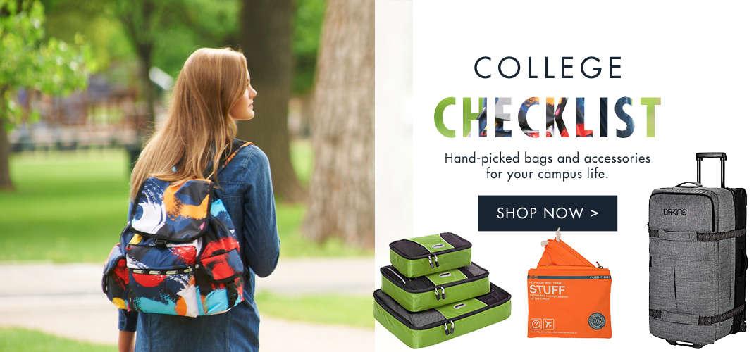 Shop College Checklist