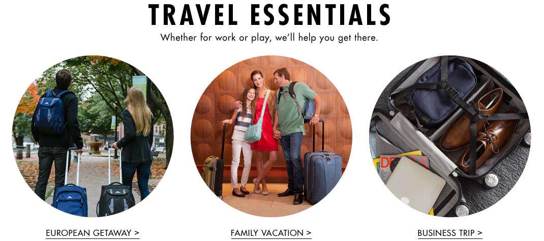 Shop Travel Essentials