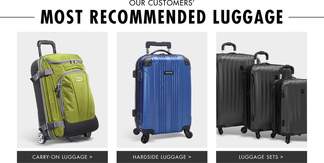 Shop Most Recommended Luggage