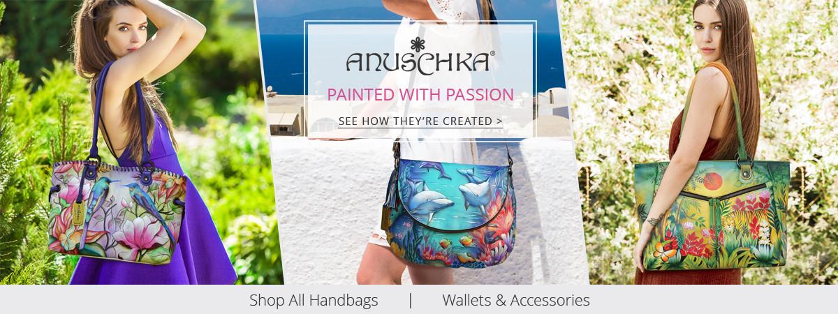 Shop Anuschka Handbags, Purses, and Accessories