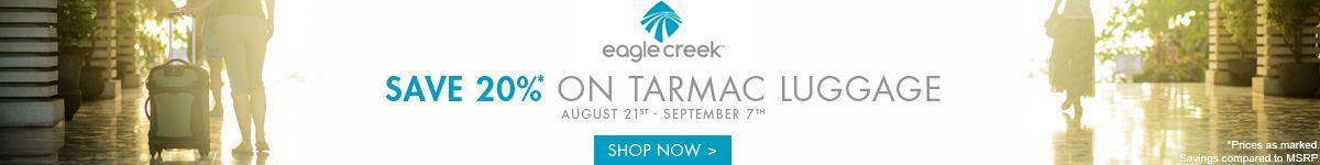 Eagle Creek | Save 20% on Tamarac Luggage | Shop Now