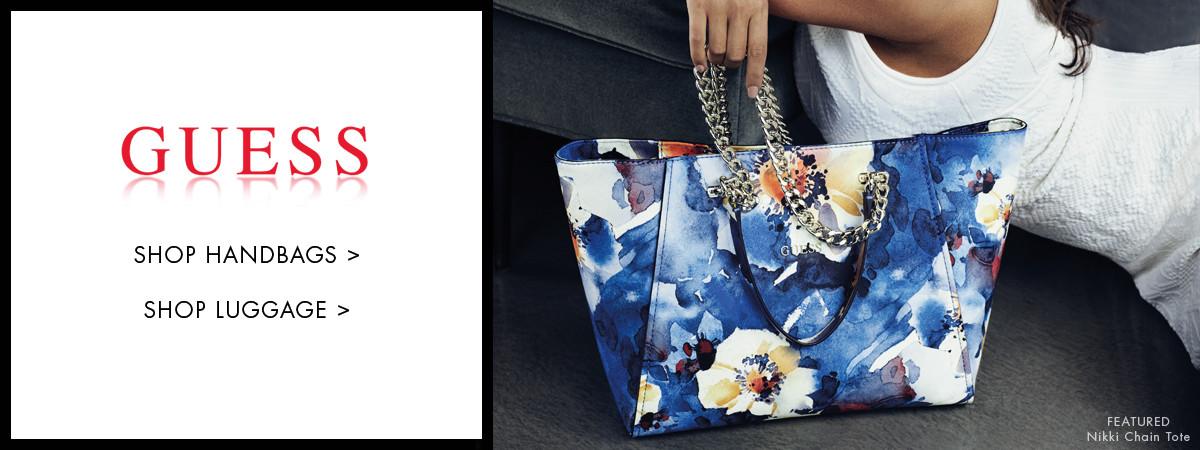 Shop GUESS Handbags and Luggage