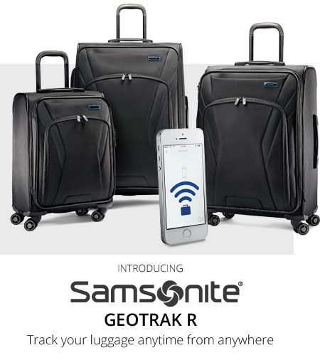 Introducing Samsonite Geotrack R | Track your luggage anytime from anywhere