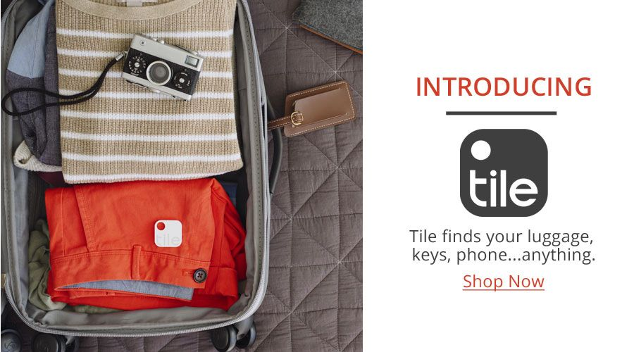 Introducting Tili | Tile Finds Your Luggage, Keys, Phone...Anything | Shop Now