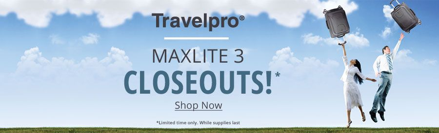 Travelpro Maxlite 3 Closeouts! | Shop Now