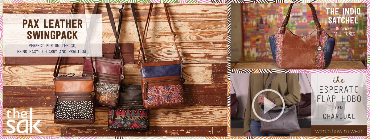 Shop The Sak Handbags, Backpacks, and Accessories