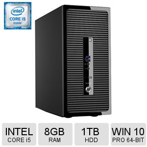 HP ProDesk 400 G3 Intel® Core™ i5 6th Gen Microtower
