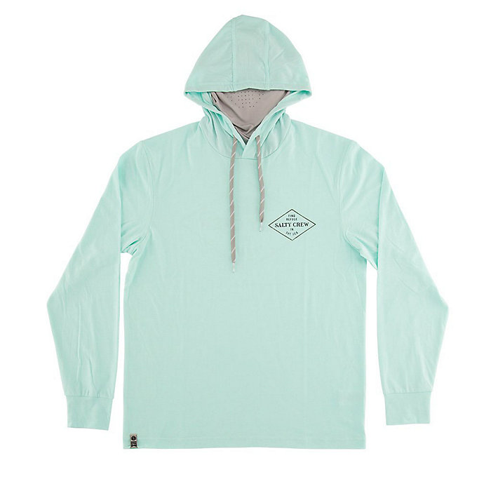 Salty Crew Men's Four Corners Tech Hood With Mask by Salty Crew