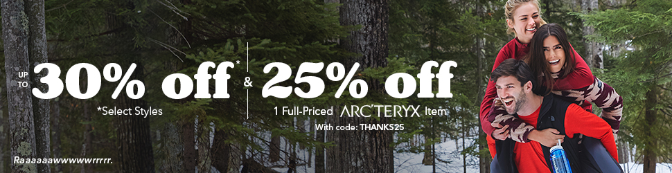 Thanksgiving Day Sale - Up to 30% Off Select Styles