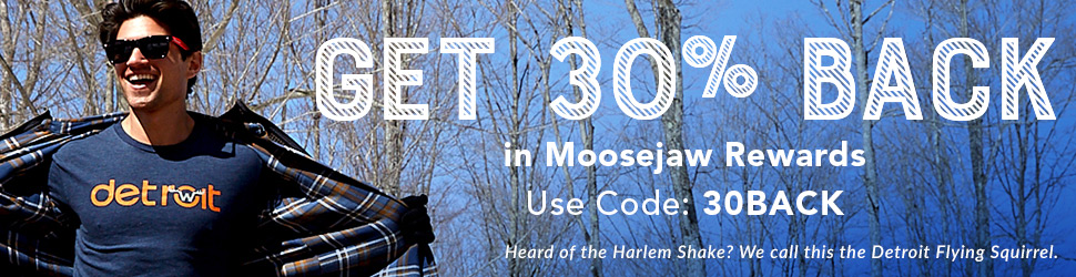 Get 30% Back in Reward Dollars at Moosejaw with code 30BACK