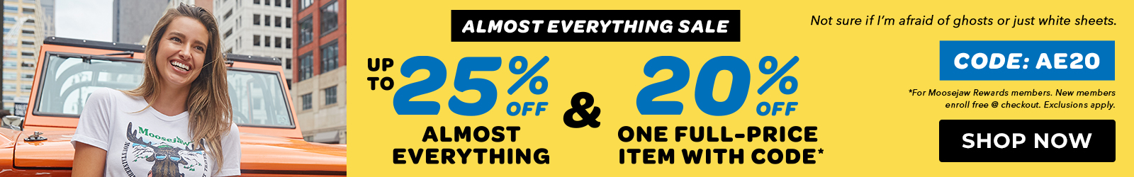 Moosejaw's Almost Everything Sale