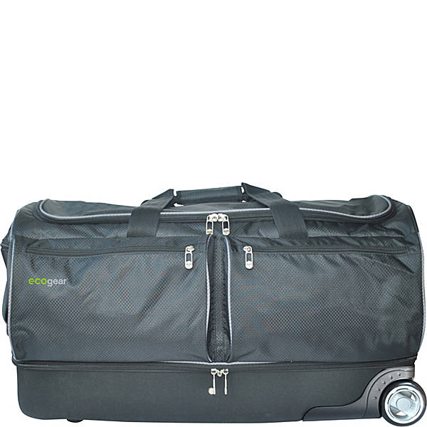 "28"" Wheeled Duffel With Garment Rack by Ecogear"