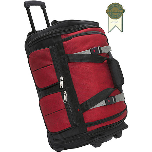 "15 Pocket 22"" Wheeling Duffel by Athalon"