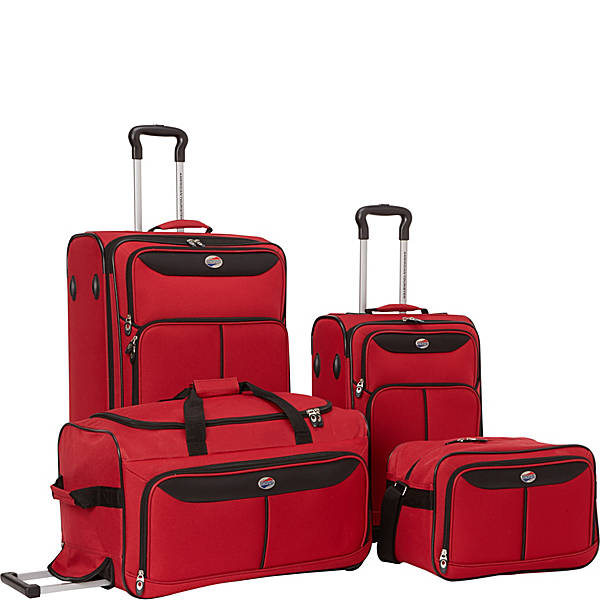 American Tourister Westerly 4 Piece Luggage Set - eBags Exclusive