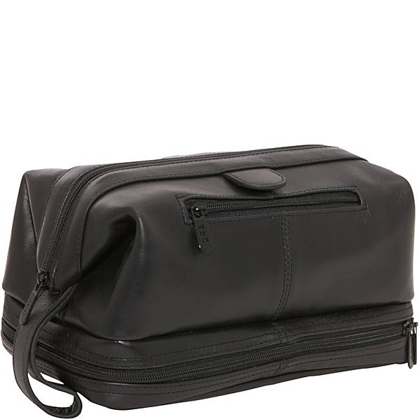 Leather Toiletry Bag by Ameri Leather