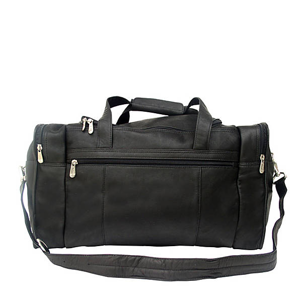 Travel Duffle With Side Pocket by Piel