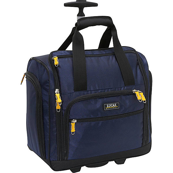 LUCAS Wheeled Underseat Cabin Bag 16""