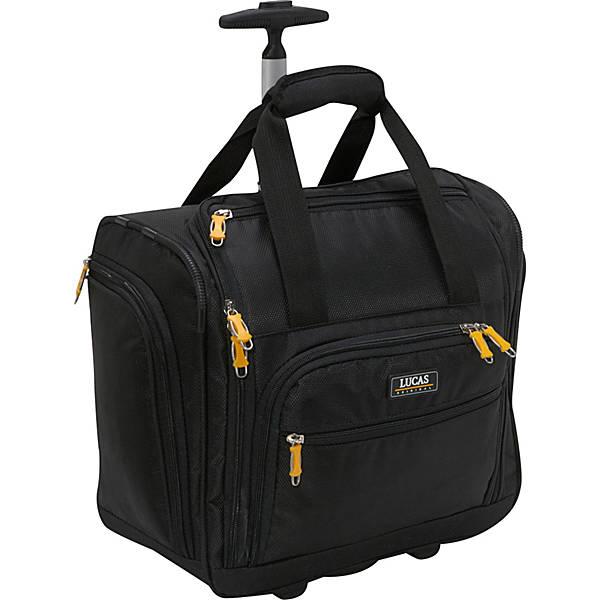 """LUCAS Wheeled Underseat Cabin Bag 16"""""""