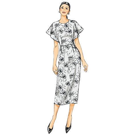 1930s Sewing Patterns- Dresses, Pants, Tops Vogue Patterns Misses Dress - V9021 $13.50 AT vintagedancer.com