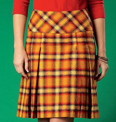 1960s – 70s Sewing Patterns- Dresses, Tops, Pants, Mens McCalls Misses Skirt - M7022 $10.77 AT vintagedancer.com