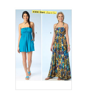 1960s – 70s Sewing Patterns- Dresses, Tops, Pants, Mens Kwik Sew Misses Casual - K4100 $7.19 AT vintagedancer.com