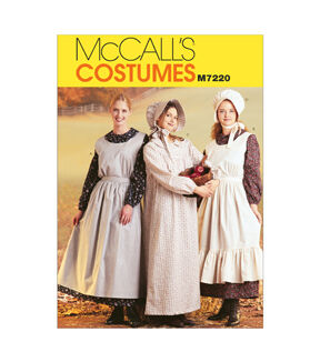 10 Things to Do with Vintage Aprons McCalls - Pattern M7220 - Misses Costumes - Sizes 8-10 - Patterns - At JOANN Fabrics  Crafts $8.37 AT vintagedancer.com