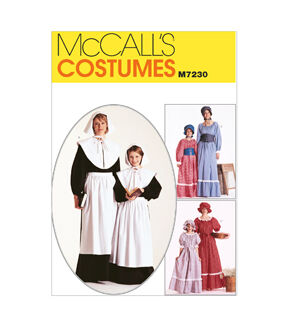 10 Things to Do with Vintage Aprons McCalls - Pattern M7230 - MissesGirls Costumes - Sizes 8-10 - Patterns - At JOANN Fabrics  Crafts $8.37 AT vintagedancer.com